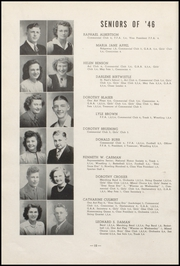 Page 16, 1946 Edition, Cresco High School - Spartan Yearbook (Cresco, IA) online yearbook collection
