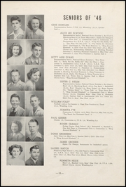 Page 17, 1946 Edition, Cresco High School - Spartan Yearbook (Cresco, IA) online yearbook collection