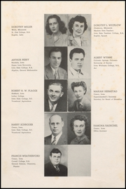 Page 12, 1949 Edition, Cresco High School - Spartan Yearbook (Cresco, IA) online yearbook collection