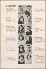 Page 14, 1949 Edition, Cresco High School - Spartan Yearbook (Cresco, IA) online yearbook collection