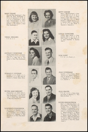 Page 15, 1949 Edition, Cresco High School - Spartan Yearbook (Cresco, IA) online yearbook collection