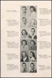 Page 16, 1949 Edition, Cresco High School - Spartan Yearbook (Cresco, IA) online yearbook collection