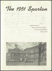 Page 5, 1951 Edition, Cresco High School - Spartan Yearbook (Cresco, IA) online yearbook collection