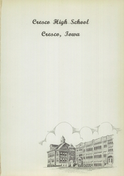 Page 5, 1952 Edition, Cresco High School - Spartan Yearbook (Cresco, IA) online yearbook collection