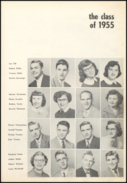 Page 17, 1955 Edition, Cresco High School - Spartan Yearbook (Cresco, IA) online yearbook collection