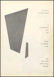 Page 5, 1955 Edition, Cresco High School - Spartan Yearbook (Cresco, IA) online yearbook collection