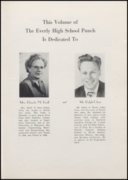 Page 9, 1950 Edition, Everly High School - Punch Yearbook (Everly, IA) online yearbook collection