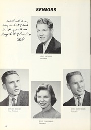 Page 16, 1958 Edition, Waverly High School - Go Hawk Yearbook (Waverly, IA) online yearbook collection
