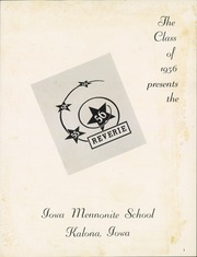 Page 5, 1956 Edition, Iowa Mennonite High School - Reverie Yearbook (Kalona, IA) online yearbook collection