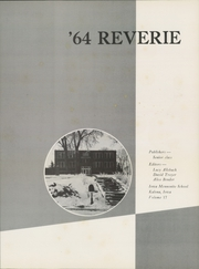 Page 5, 1964 Edition, Iowa Mennonite High School - Reverie Yearbook (Kalona, IA) online yearbook collection