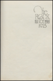 Page 5, 1923 Edition, Rock Valley High School - Rock Yearbook (Rock Valley, IA) online yearbook collection