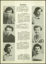 Page 12, 1954 Edition, Rock Valley High School - Rock Yearbook (Rock Valley, IA) online yearbook collection