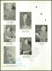Page 8, 1958 Edition, Avoha High School - Blueprint Yearbook (Avoca, IA) online yearbook collection