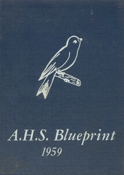 1959 Edition, Avoha High School - Blueprint Yearbook (Avoca, IA)