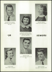 Page 8, 1959 Edition, Avoha High School - Blueprint Yearbook (Avoca, IA) online yearbook collection