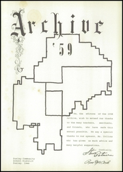 Page 5, 1959 Edition, Dunlap High School - Archive Yearbook (Dunlap, IA) online yearbook collection