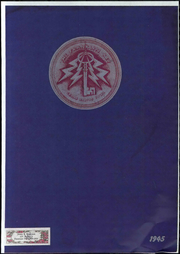 Franklin High School - Key Yearbook (Cedar Rapids, IA) online yearbook collection, 1945 Edition, Page 1