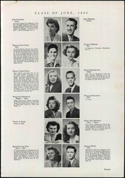 Page 17, 1945 Edition, Franklin High School - Key Yearbook (Cedar Rapids, IA) online yearbook collection