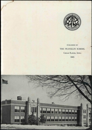 Page 7, 1945 Edition, Franklin High School - Key Yearbook (Cedar Rapids, IA) online yearbook collection