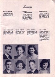 Page 11, 1945 Edition, John R Mott High School - Mir Or Yearbook (Postville, IA) online yearbook collection