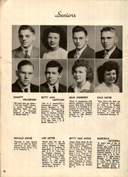 Page 12, 1945 Edition, John R Mott High School - Mir Or Yearbook (Postville, IA) online yearbook collection