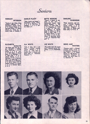 Page 13, 1945 Edition, John R Mott High School - Mir Or Yearbook (Postville, IA) online yearbook collection