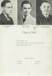Page 15, 1940 Edition, Lincoln High School - Torch Yearbook (Webster City, IA) online yearbook collection
