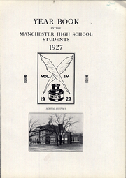 Page 5, 1927 Edition, Manchester High School - Manhawk Yearbook (Manchester, IA) online yearbook collection