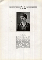 Page 6, 1927 Edition, Manchester High School - Manhawk Yearbook (Manchester, IA) online yearbook collection