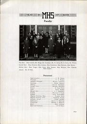 Page 8, 1927 Edition, Manchester High School - Manhawk Yearbook (Manchester, IA) online yearbook collection