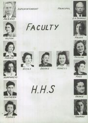 Page 10, 1946 Edition, Haleyville High School - Havala Yearbook (Haleyville, AL) online yearbook collection