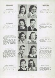 Page 15, 1946 Edition, Haleyville High School - Havala Yearbook (Haleyville, AL) online yearbook collection