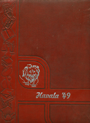 1949 Edition, Haleyville High School - Havala Yearbook (Haleyville, AL)
