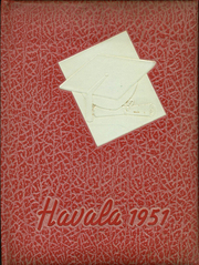 Haleyville High School - Havala Yearbook (Haleyville, AL) online yearbook collection, 1951 Edition, Page 1