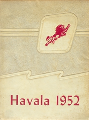 Haleyville High School - Havala Yearbook (Haleyville, AL) online yearbook collection, 1952 Edition, Page 1
