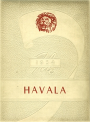 Haleyville High School - Havala Yearbook (Haleyville, AL) online yearbook collection, 1954 Edition, Page 1