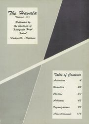 Page 5, 1959 Edition, Haleyville High School - Havala Yearbook (Haleyville, AL) online yearbook collection