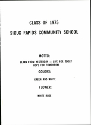 Page 5, 1975 Edition, Sioux Rapids High School - Yearbook (Sioux Rapids, IA) online yearbook collection