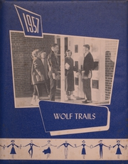 1957 Edition, Fontanelle High School - Wolf Trails Yearbook (Fontanelle, IA)