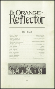 Page 11, 1921 Edition, Orange High School - Tiger Tales Yearbook (Waterloo, IA) online yearbook collection