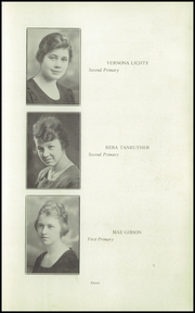 Page 15, 1921 Edition, Orange High School - Tiger Tales Yearbook (Waterloo, IA) online yearbook collection