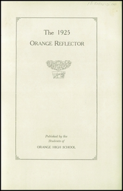Page 5, 1925 Edition, Orange High School - Tiger Tales Yearbook (Waterloo, IA) online yearbook collection