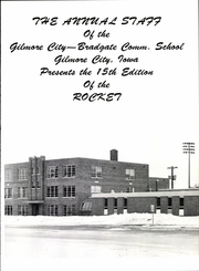 Page 5, 1975 Edition, Gilmore City Bradgate High School - Rocket Yearbook (Gilmore City, IA) online yearbook collection