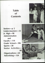 Page 6, 1981 Edition, Gilmore City Bradgate High School - Rocket Yearbook (Gilmore City, IA) online yearbook collection