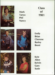 Page 9, 1981 Edition, Gilmore City Bradgate High School - Rocket Yearbook (Gilmore City, IA) online yearbook collection