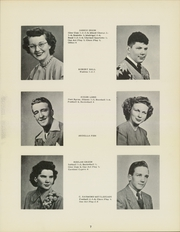 Page 11, 1949 Edition, Fayette High School - Cardinal Yearbook (Fayette, IA) online yearbook collection