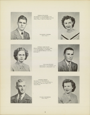 Page 12, 1949 Edition, Fayette High School - Cardinal Yearbook (Fayette, IA) online yearbook collection