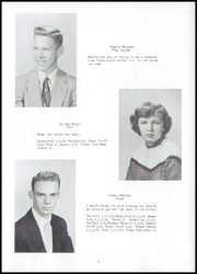 Page 11, 1955 Edition, Fayette High School - Cardinal Yearbook (Fayette, IA) online yearbook collection