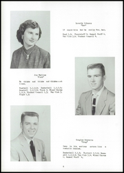 Page 12, 1955 Edition, Fayette High School - Cardinal Yearbook (Fayette, IA) online yearbook collection