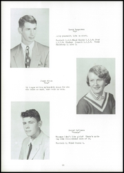Page 14, 1955 Edition, Fayette High School - Cardinal Yearbook (Fayette, IA) online yearbook collection